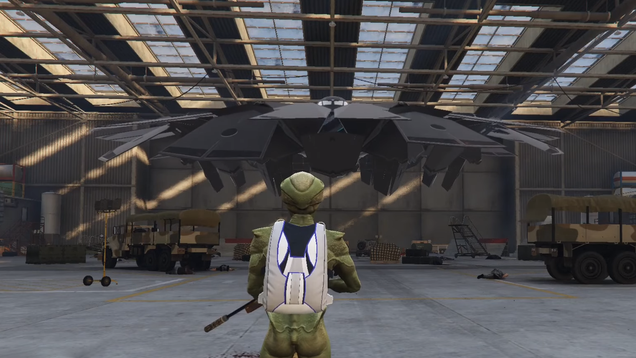 GTA Online Dataminers Find And Play Secret UFO Mission