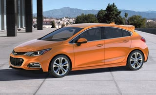 """Illustration for article titled Performance Chevy Cruze Must Be Called the Cruze """"MI"""""""