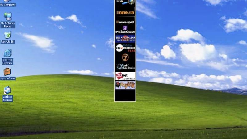 Photo: Microsoft Windows 95 (The Rasteri/YouTube)
