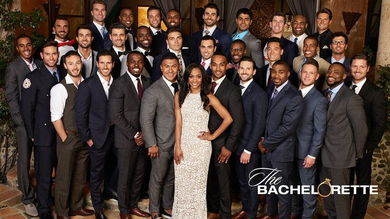The contestants of The Bachelorette.