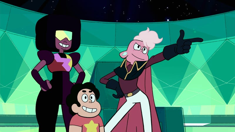 Tv reviews steven universe for Your inner fish summary