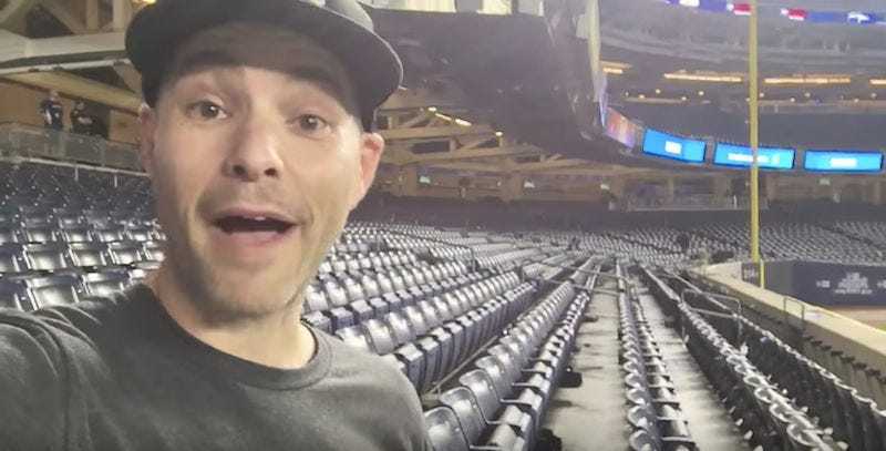 Ballhawk Zack Hample Owned By Clayton Kershaw