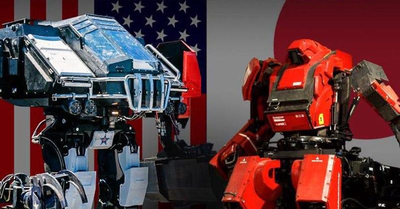 Illustration for article titled Cómo ver, en directo, el primer combate real de la historia entre robots gigantes