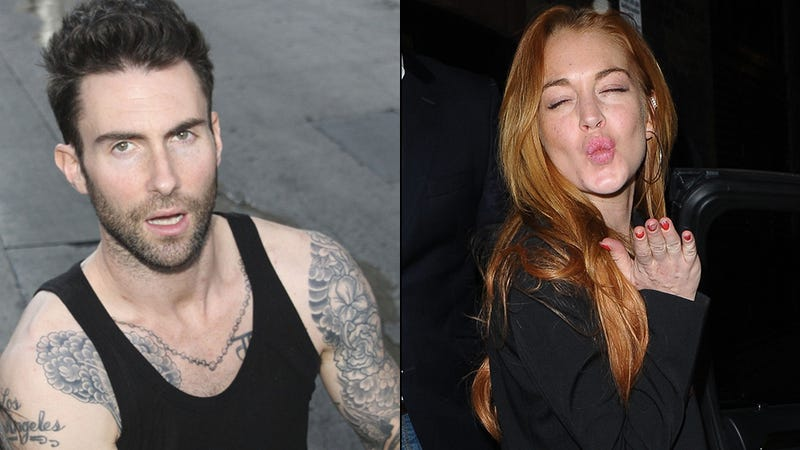 Illustration for article titled Adam Levine on LiLo: I Did Not Have Sexual Relations With That Woman