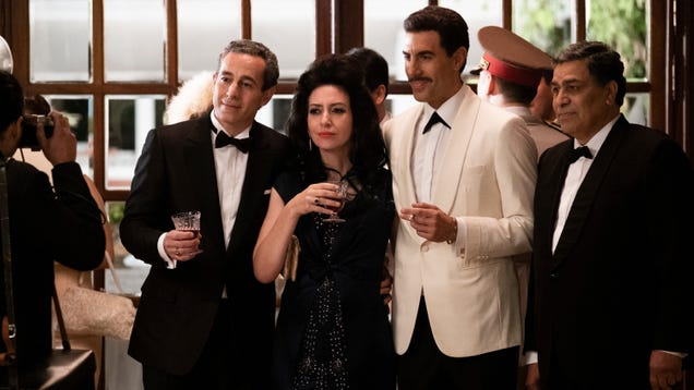 Sacha Baron Cohen plays it straight in Netflix's wild true-life tale of The Spy