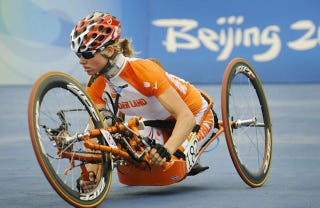 Illustration for article titled Silver Medal Winning Paralympic Cyclist May Compete In Actual Olympics