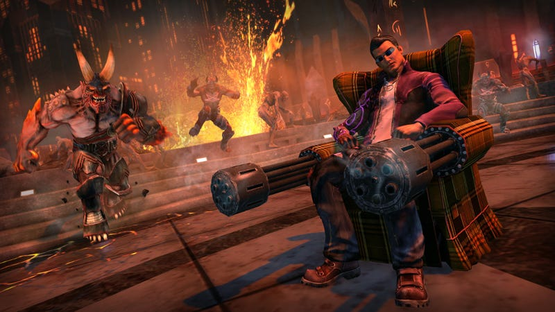 Illustration for article titled The Funniest Guns In Saints Row: Gat Out Of Hell