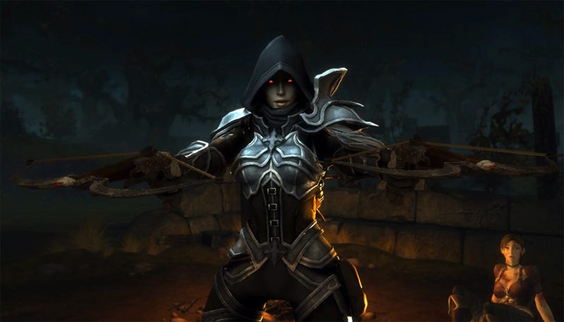 Illustration for article titled Diablo III Gets A Demon Hunter Class