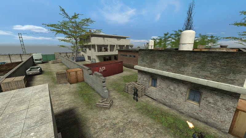 Illustration for article titled Bin Laden's Compound Now Available as a Counter Strike Map