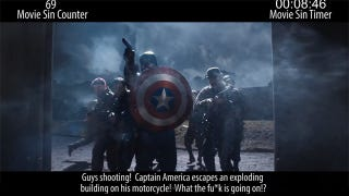 Illustration for article titled Everything Wrong With The Captain America Movie Only Takes 12 Minutes?