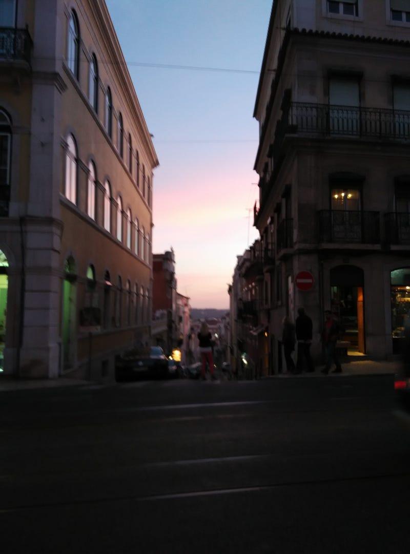 Illustration for article titled Lisbon Sunset