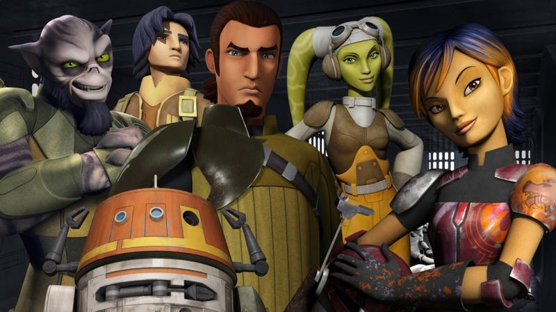 Illustration for article titled A MajorRogue One Character is Heading to Star Wars Rebels