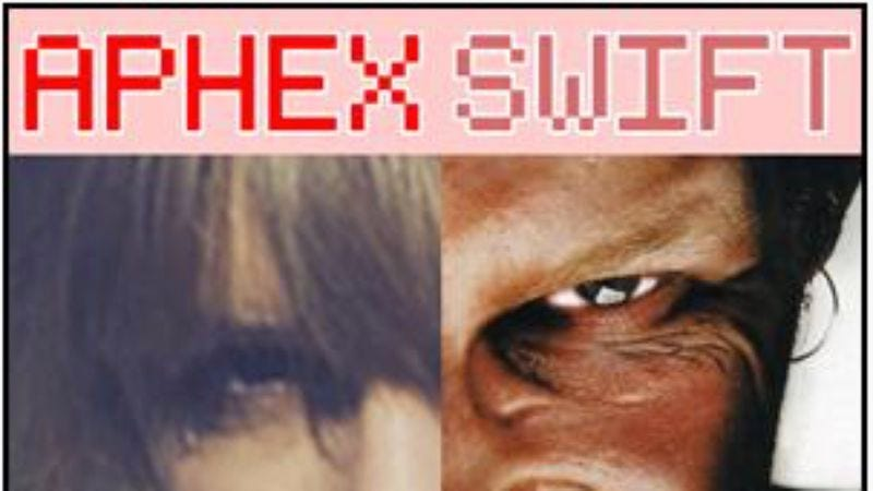 Illustration for article titled Here's a great Taylor Swift/Aphex Twin mash-up by David Rees