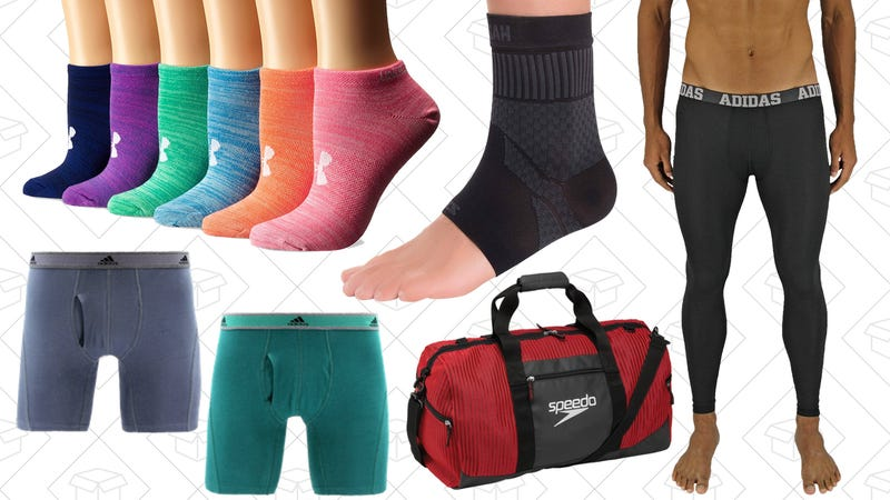 Sports Socks, Underwear, and Accessories Gold Box