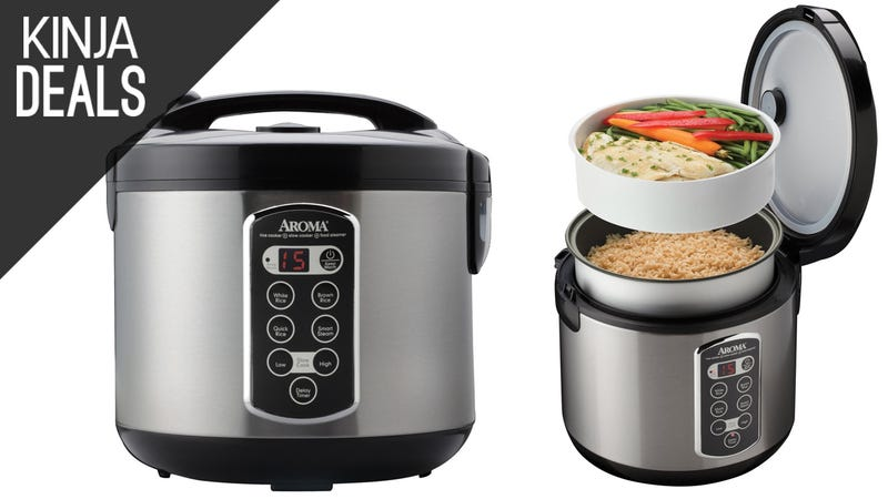 Illustration for article titled Make Perfect Rice Every Time With This $30 Cooker and Steamer