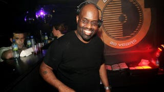 DJ Frankie Knuckles plays at the Def Mix 20th Anniversary Weekender at Turnmills nightclub in London May 6, 2007.Claire Greenway/Getty Images