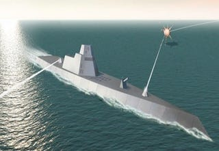 Illustration for article titled Navy Initiates a Five-Year Plan to Build Laser Blasters