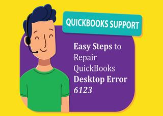 Easy Steps to Repair QuickBooks Desktop Error 6123