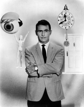 Illustration for article titled Rod Serling on the Twilight Zone: We failed frequently, but we created more than we imitated