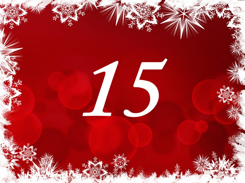 Illustration for article titled The TAY Advent Calendar: Day 15
