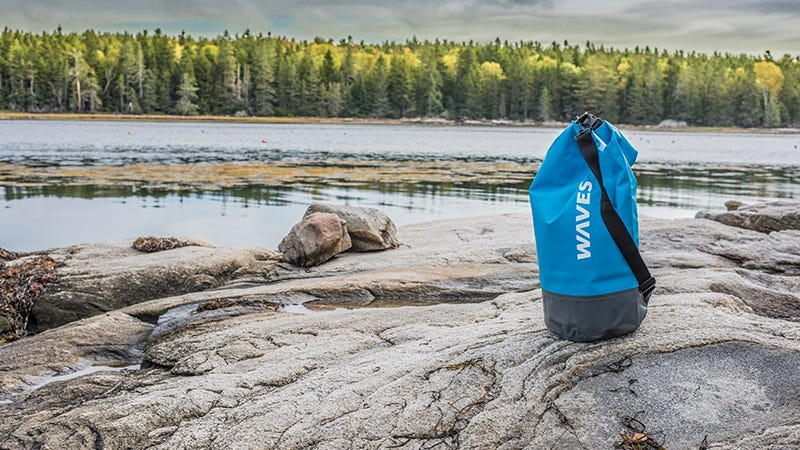 Illustration for article titled Get Two Free Forever Cold Water Bottles When You Buy A WavesGear Dry Bag ($34)