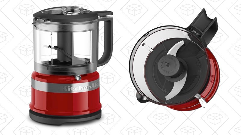 KitchenAid 3.5 Cup Mini Food Processor | $21 | Amazon | After $9 off coupon
