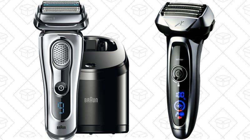 Braun Series 9, $205 | Panasonic Arc5, $150 after $50 coupon