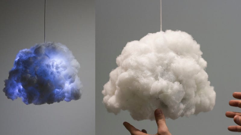 Illustration for article titled The Tiny Cloud Gives You Thunder and Lightning but Won't Rain On Your Parade