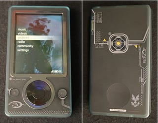 Illustration for article titled First Pics of the Zune Halo 3 Special Edition