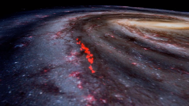 Nearby Gas Clouds Actually Form Behemoth Structure That Might Be the Milky Way's Arm, Study Finds