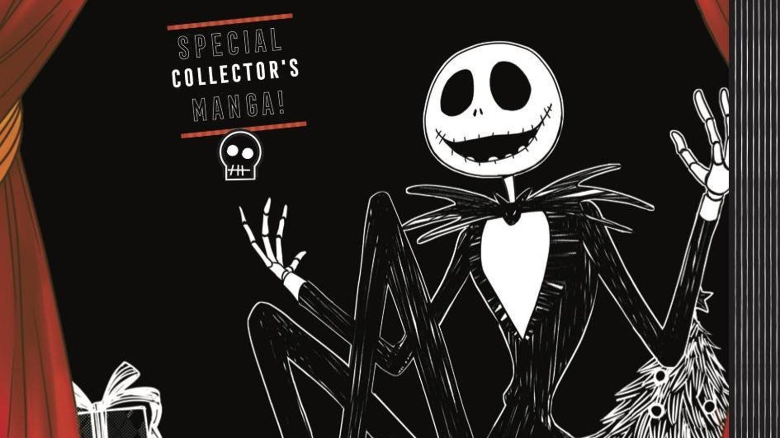The Nightmare Before Christmas Is Finally Getting a Sequel... as a Manga