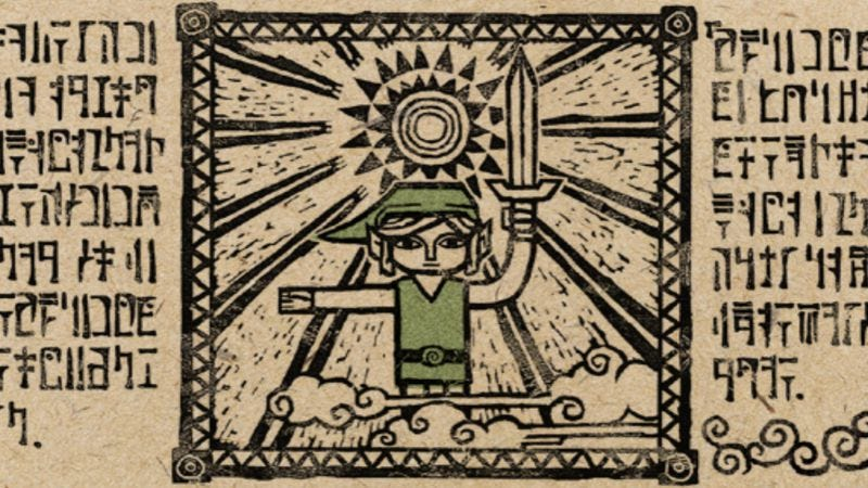 a4bdf7055e3 The Legend Of Zelda  The Wind Waker begins with a myth  Once, a great evil  came upon the kingdom of Hyrule, and all seemed lost until a young boy  appeared ...