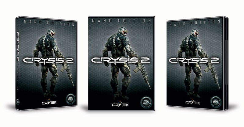 Illustration for article titled Crysis 2 Nano Edition Is Big, Official, For 'The Ultimate Crysis Fan'
