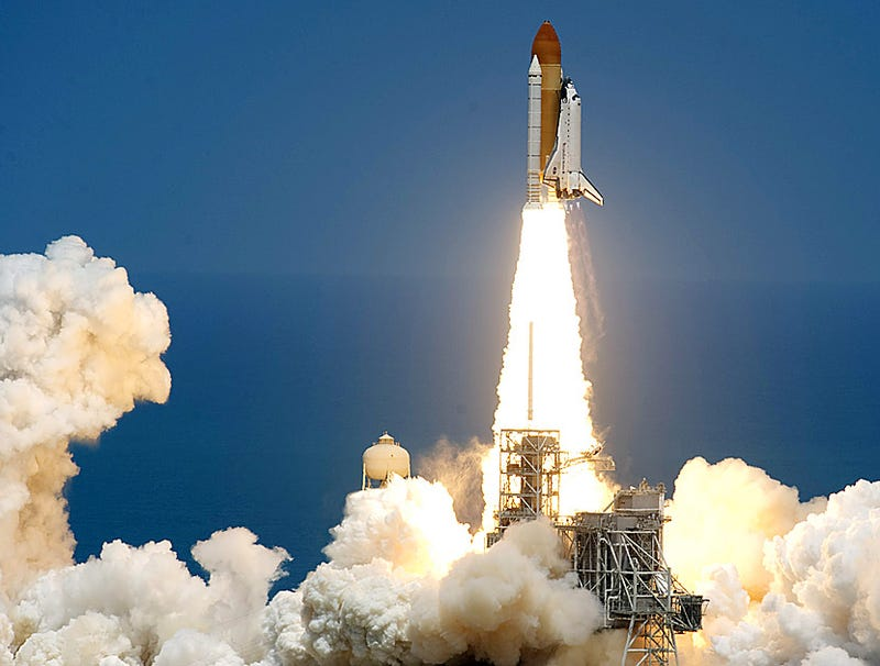 Illustration for article titled NASA Inadvertently Launches Unmanned Space Shuttle