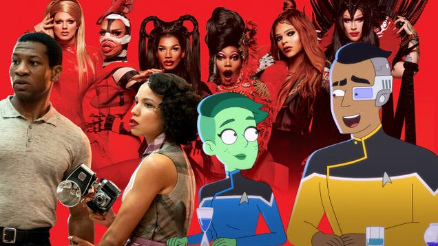 This August, TV ventures through The Swamp, Lovecraft Country, and the Lower Decks of Star Trek