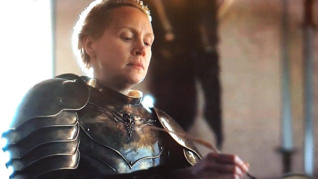 All hail Brienne The Blogger, First Of Her Name