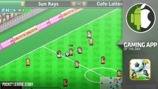 Illustration for article titled One of 2012's Best Sports Games Might be This Cute Football Sim