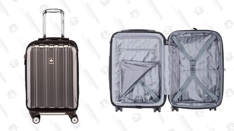 Delsey Helium Suitcase   Woot