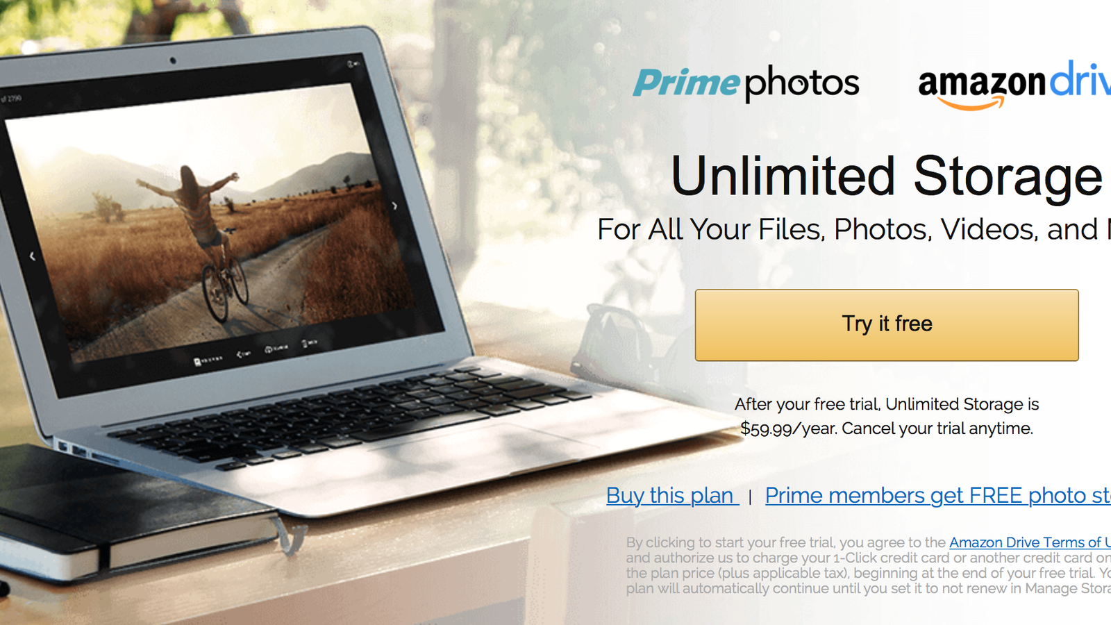 amazon drive and prime photos terms of use