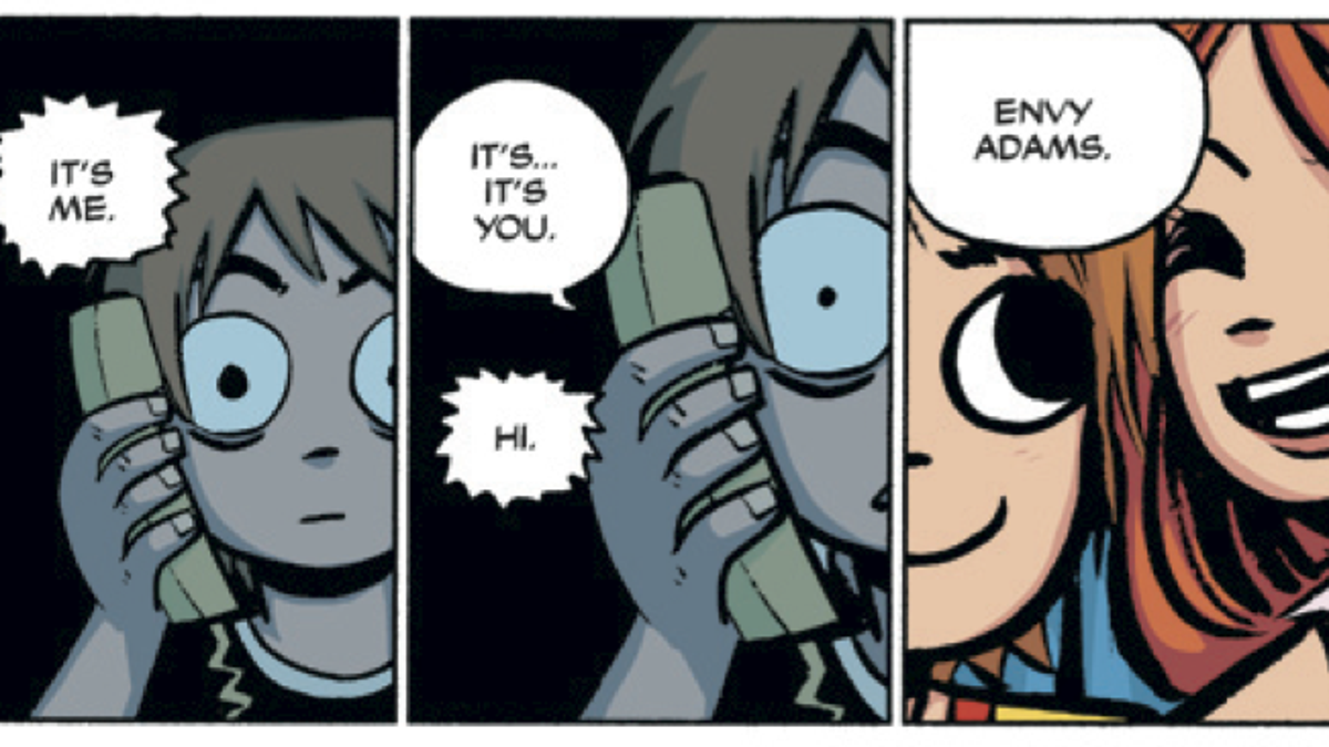 Bryan Lee O Malley Walks Through The Newly Colored Scott Pilgrim Series