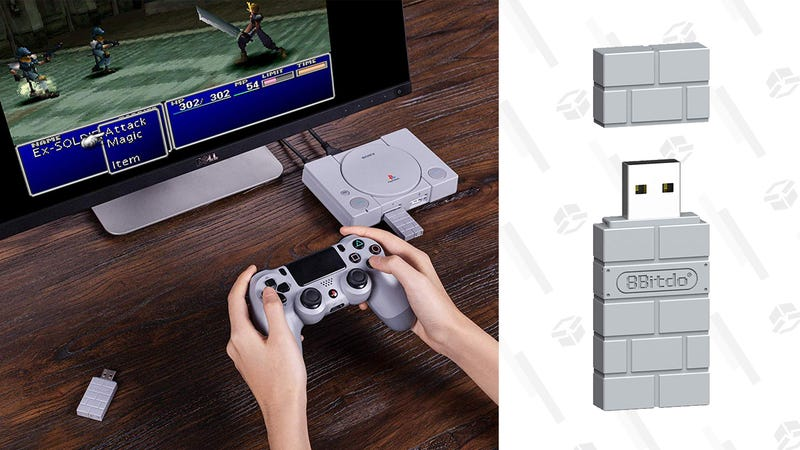 8Bitdo Wireless USB Bluetooth Adapter | $18 | Amazon | Clip coupon on page