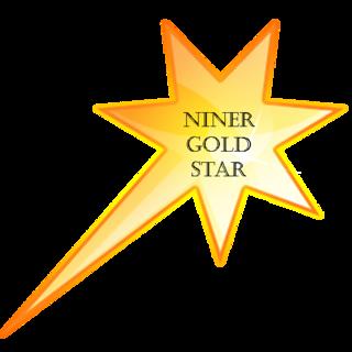 Illustration for article titled I won a Niner-Gold-Star!!!!