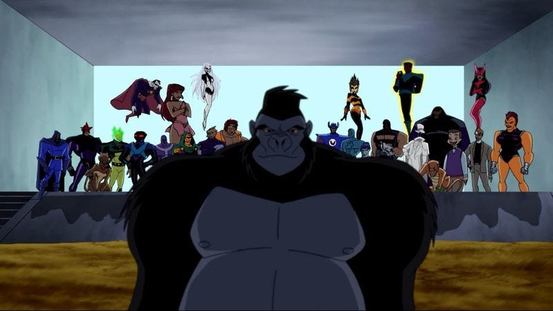"Illustration for article titled Justice League Unlimited: ""I Am Legion"""