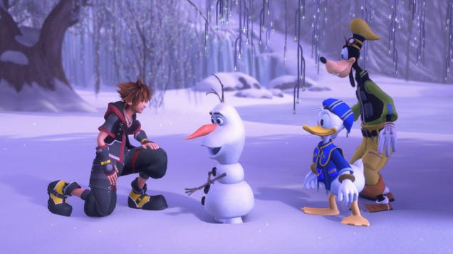 If You've Been Resisting Kingdom Hearts III...Let It Go. It's Just $20 Today
