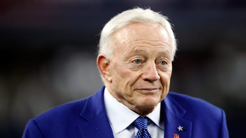"Illustration for article titled Jerry Jones Thinks You're Stupid Enough To Believe An 18-Game Season Would Be ""Better For Players"""