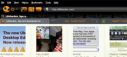 HalloFF Firefox Theme Oozes with Halloween Spirit