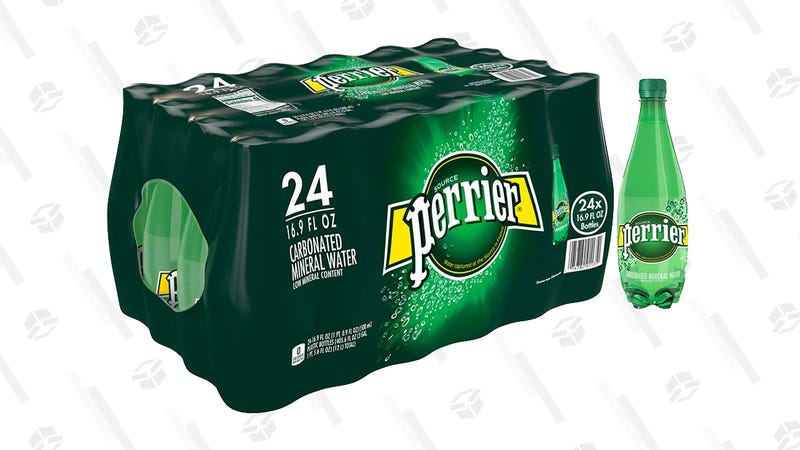 Perrier Carbonated Mineral Water, 16.9 fl oz. Plastic Bottles (24 Count) | $14 | Amazon