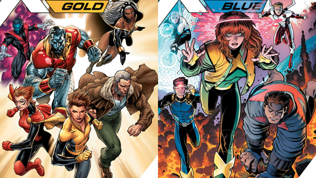 here are your new x men teams