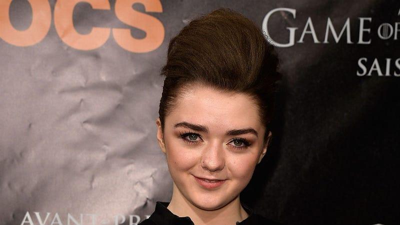 Illustration for article titled Games of Thrones Actress Maisie Williams: 'I'm Never Getting Married'
