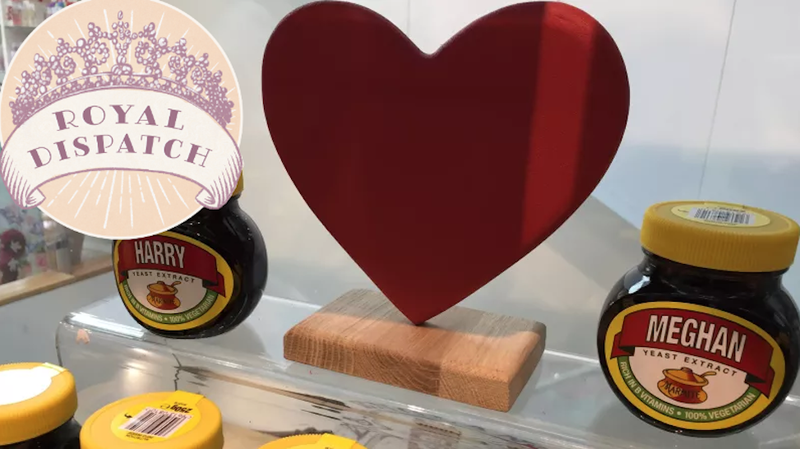 Illustration for article titled From Personalized Marmite to Ugly-Ass Flags: Here Are the Wildest Souvenirs I Found at the Royal Wedding